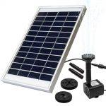 Luxjet Solar Powered Fountain pump