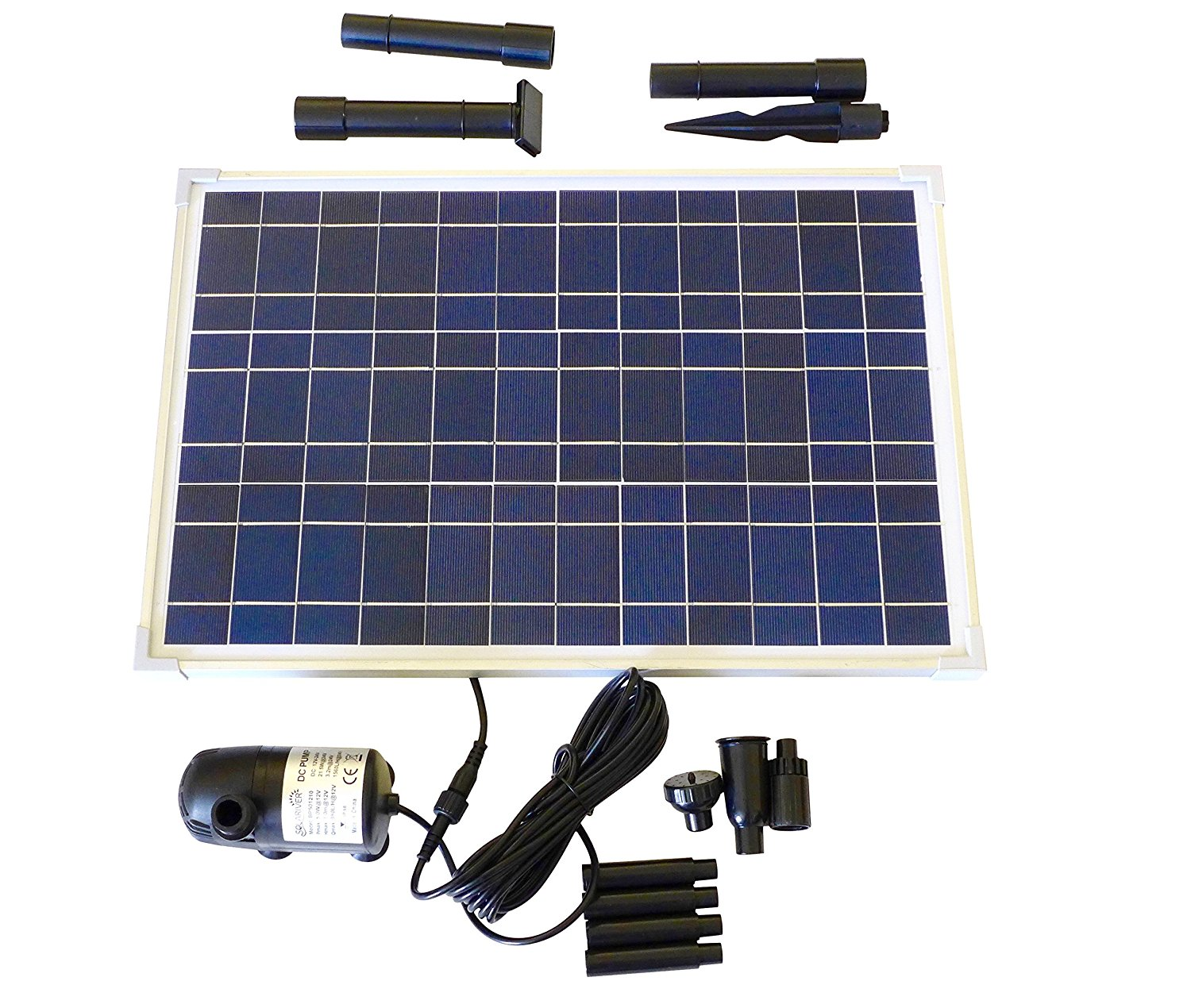 Solariver Solar Powered Pond Pump