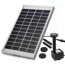 Ledgle Solar Powered Pond & Solar Fountain Pump