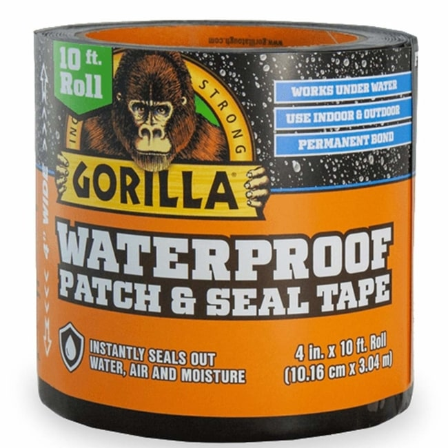 Gorilla Waterproof Patch Seal Pond Tape