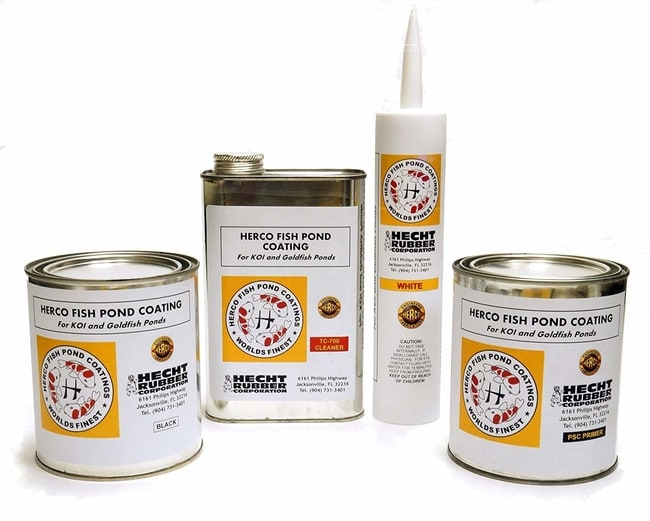 Herco Black Pond Sealant Kit